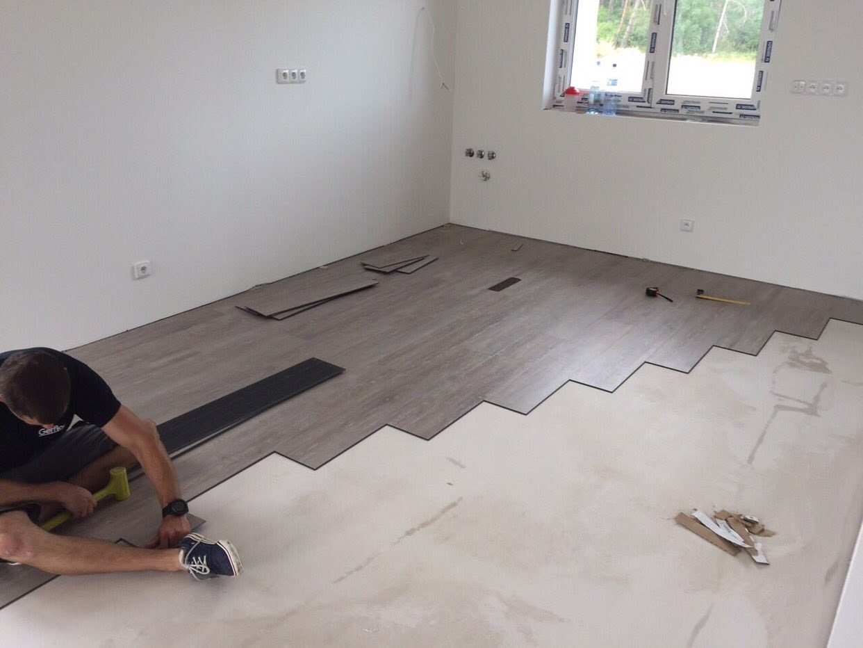 Vinyl - Gerflor Creation 55 Clic System